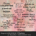 Charisma WordArt Pack-$4.99 (Laura Burger)