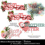 Sisters WordArt Pack-$2.49 (Albums to Remember)