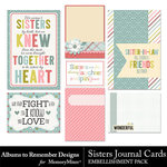 Sisters Journal Cards-$2.49 (Albums to Remember)