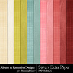 Sisters Extra Paper Pack-$3.99 (Albums to Remember)