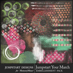 Jumpstart Your March Accents Pack-$3.99 (Jumpstart Designs)