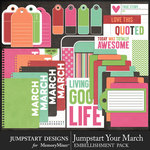 Jumpstart Your March Journal Pack-$3.99 (Jumpstart Designs)