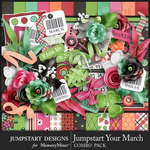 Jumpstart Your March Combo Pack-$8.99 (Jumpstart Designs)