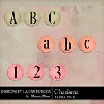 Charisma Alphabet Pack-$2.99 (Laura Burger)