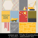 Under Construction LJ Journal Cards-$1.99 (Lindsay Jane)