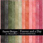 Forever and a Day Solids Paper Pack-$3.49 (Fayette Designs)