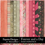 Forever and a Day Basics Paper Pack-$3.99 (Fayette Designs)
