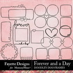 Forever and a Day Doodley Doo Frames-$2.99 (Fayette Designs)