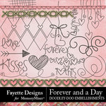 Forever and a Day Doodley Doo Embellishments-$2.99 (Fayette Designs)