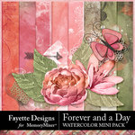 Forever and a Day Watercolor Mini Pack-$3.99 (Fayette Designs)
