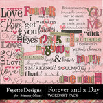 Forever and a Day WordArt Pack-$3.99 (Fayette Designs)