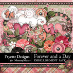Forever and a Day Embellishment Pack-$4.49 (Fayette Designs)