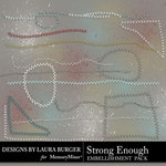 Strong Enough Stitches Pack-$2.99 (Laura Burger)