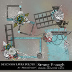 Strong Enough Clusters Pack 2-$4.99 (Laura Burger)