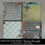 Strong Enough Stacked Paper Pack-$4.99 (Laura Burger)