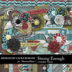 Strong Enough Combo Pack-$5.99 (Laura Burger)