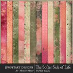 The Softer Side of Life Art Paper Pack-$3.99 (Jumpstart Designs)