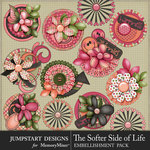 The Softer Side of Life Bloom Stacks Pack-$3.99 (Jumpstart Designs)