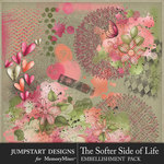 The Softer Side of Life Accents Pack-$3.99 (Jumpstart Designs)