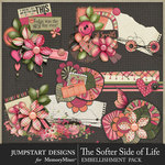 The Softer Side of Life Clusters Pack-$3.99 (Jumpstart Designs)