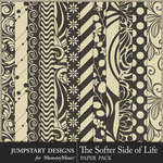 The Softer Side of Life Basics Paper Pack-$3.99 (Jumpstart Designs)