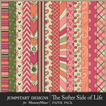 The Softer Side of Life Patterned Paper Pack-$3.99 (Jumpstart Designs)