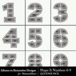 Shape It Numbers 0 to 9 QuickMix-$3.49 (Albums to Remember)