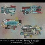 Strong Enough Clusters Pack 1-$4.99 (Laura Burger)