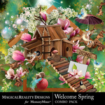 Welcome Spring Combo Pack-$7.99 (MagicalReality Designs)