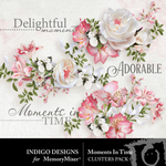 Moments In Time ID Clusters Pack-$2.99 (Indigo Designs)