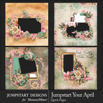 Jumpstart Your April Quick Pages-$2.50 (Jumpstart Designs)