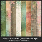 Jumpstart Your April Art Paper Pack-$3.99 (Jumpstart Designs)