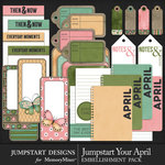 Jumpstart Your April Journal Pack-$2.00 (Jumpstart Designs)