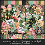 Jumpstart Your April Combo Pack-$8.99 (Jumpstart Designs)