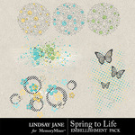 Spring to Life LJ Scatterz Pack-$1.99 (Lindsay Jane)