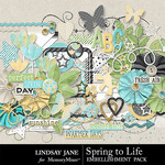 Spring to Life LJ Embellishment Pack-$3.49 (Lindsay Jane)