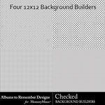 Background Builders Checks-$3.49 (Albums to Remember)
