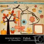 Fallish Embellishment Pack-$3.00 (Designs by Krista)