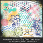 My Own Little World Accent Pack-$3.99 (Jumpstart Designs)