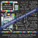 My Own Little World Add On Emb Pack-$3.99 (Jumpstart Designs)