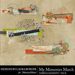 My Memories March Stacks Pack-$3.99 (Laura Burger)