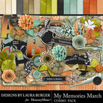My Memories March Combo Pack-$7.99 (Laura Burger)