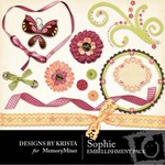Sophie Embellishment Pack-$2.99 (Designs by Krista)