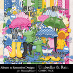 Umbrellas and Rain Combo Pack-$4.00 (Albums to Remember)