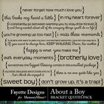 About A Boy FD Bracket Quotes Pack-$2.99 (Fayette Designs)