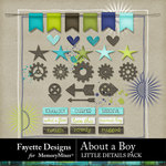 About A Boy FD Little Details Pack-$3.99 (Fayette Designs)