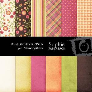 Sophie paper pack medium