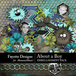 About A Boy FD Embellishment Pack-$3.99 (Fayette Designs)