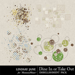 Dine In or Take Out Scatterz Pack-$1.99 (Lindsay Jane)