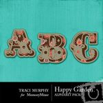 Happy Garden Alphabet Pack-$1.00 (Traci Murphy)